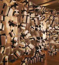 "Raffle Ideas - Imagine an event where the decor itself helps raise money.  For the Children's Museum of Manhattan gala last year, the New York-based 360 Design Events team riffed on the European tombola raffle,  creating a wall of ""tumbling"" presents to help raise funds. During the 45-minute cocktail hour, the entire wall sold out at $100 a ticket, yielding another $20,000 for the museum."