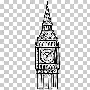 Torre Del Reloj De Dibujo De Big Ben Haber Big Ben Png Clipart Clip Art Big Ben Instagram Story