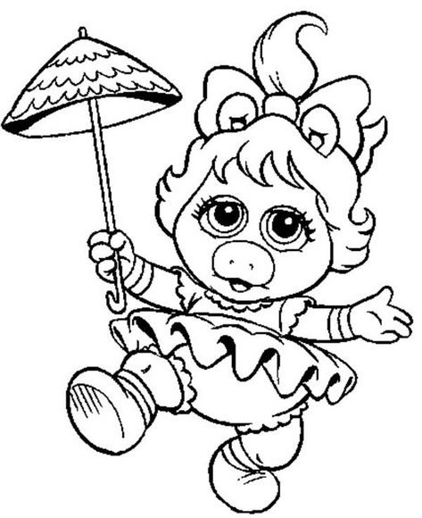 41 Muppet Babies Coloring Pages Ideas