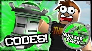 NEW* 2x CODES & Nuclear Weapon Robux Pack!   Roblox Destruction