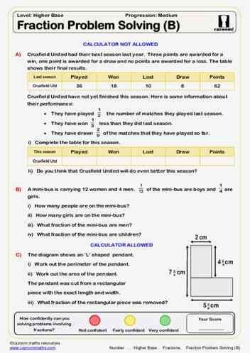 Fractions Maths Worksheet Math Worksheet Math Resources Math Fractions