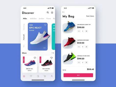 E-commerce app UI ANIMATION