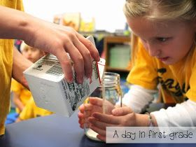 A day in first grade: Life as a Pilgrim