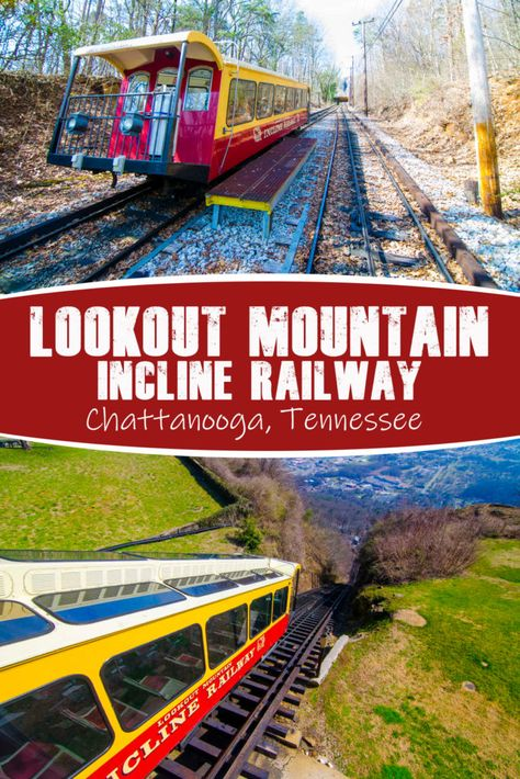 Lookout Mountain Incline Railway in Chattanooga, Tennessee Photos: chattanoogafun.com