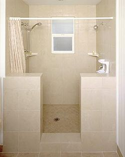 Tiled Bathtub Shower Combo | Hawaii Vacation Rentals Showers | For The Home  | Pinterest | Bathtub Shower Combo, Bathtub Shower And Bathtubs