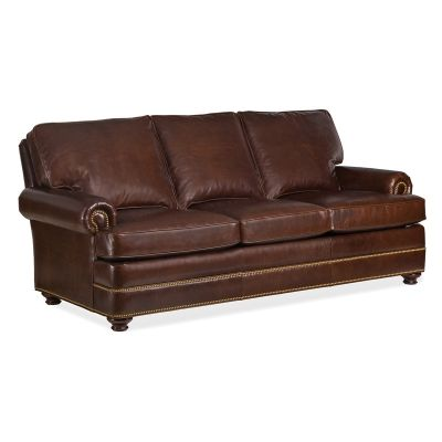 Hancock And Moore 6565 3 Doyle Leather Sofa Available At Hickory
