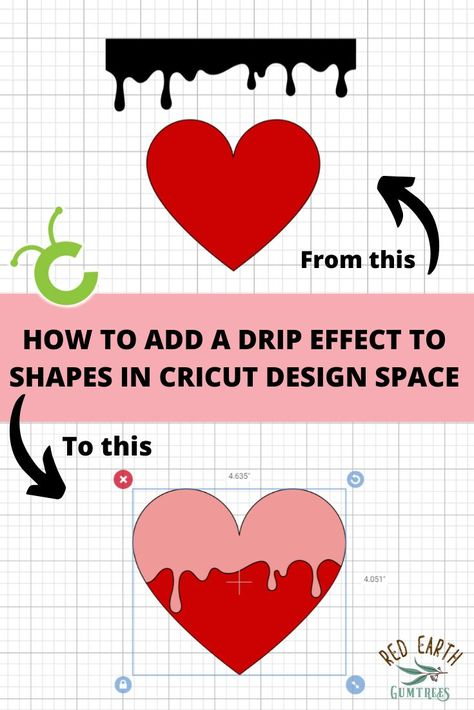 Step by step tutorial on How to add a Drip effect to Shapes in Cricut Design Space. For more tutorials checkout www. Cricut tutorial for beginners Source by PMQuiltsandCrafts ideas design Cricut Craft Room, Cricut Vinyl, Cricut Fonts, Cricut Air, Cricut Help, Cricut Explore Air, Banner, Cricut Tutorials, Free Tutorials
