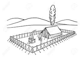 Israelites Built The Tabernacle Coloring Page Google Search The Tabernacle Coloring Pages Tabernacle