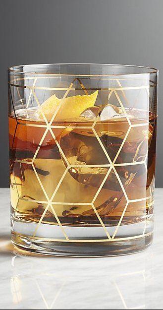 Jaxson Double Old Fashioned Glass Reviews Crate And Barrel In 2020 Old Fashioned Glass Glass Crate And Barrel