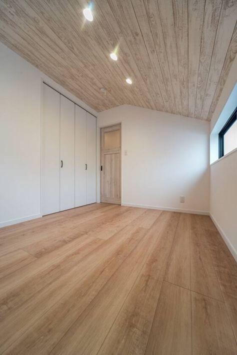 子供部屋の室内ドアは手塗りのようなファミリーラインパレット 室内