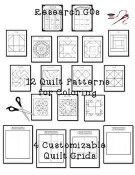 Freedom Quilt Pattern Research And Art Activity Art Activities