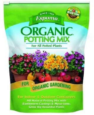 Espoma Ap8 8 Quart Organic Potting Mix Potting Mix Potting Soil