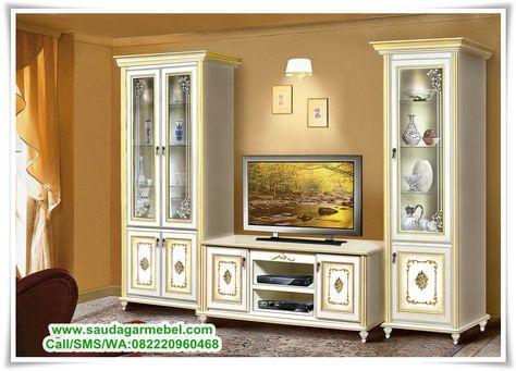 meja hias ruang tamu mewah - desain dekorasi rumah