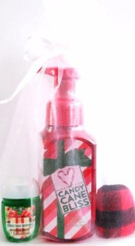 Bath Body Works Candy Cane Bliss Hand Soap Christmas Morn