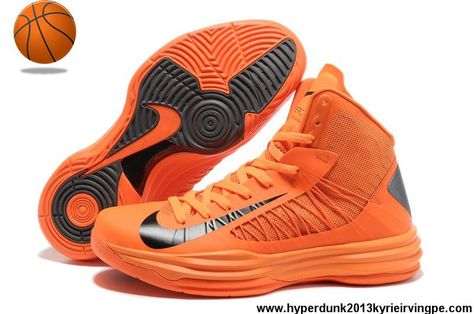 size 40 62f3d 185f0 Wholesale Discount Orange Blaze Black Nike Lunar Hyperdunk 2013 Womens  Basketball Shoes Store