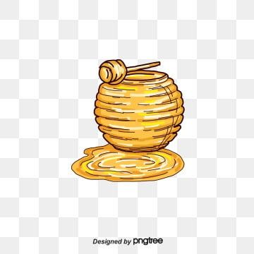 Honey Honey Clipart Bee Honey Pot Png Transparent Clipart Image And Psd File For Free Download Honey Pictures Honey Sticks Honey Pot