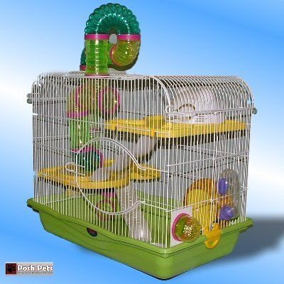 Sahara Oasis Hamster Cage Large Open Top For Hamsters