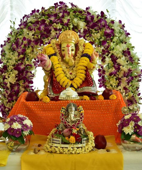 Ganpati Decoration Ideas | Ganpati Decoration Themes | Ganpati Décor |  Ganesh Chaturti Décor| Ganesh