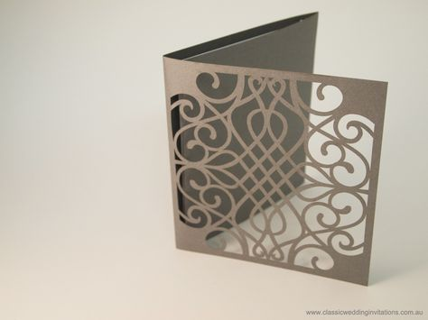 cutting machine wedding invitations
