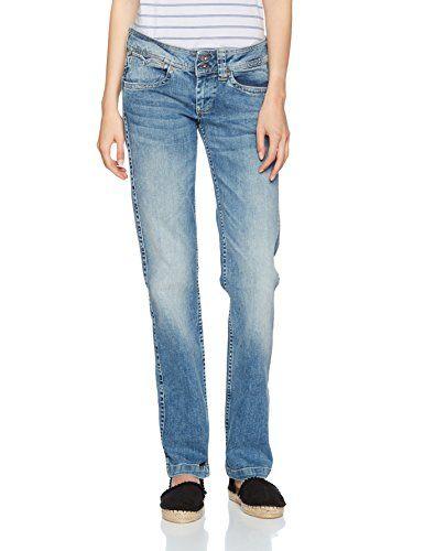 Pepe Jeans Damen Jeans Banji PL200006, Hellblau (Denim), 26W
