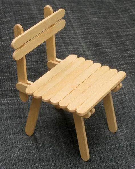 Cara Membuat Miniatur Jembatan Dari Stik Es Krim : membuat, miniatur, jembatan, Fairy, Garden, Ideas, Garden,, Craft, Stick, Crafts,, Popsicle, Houses