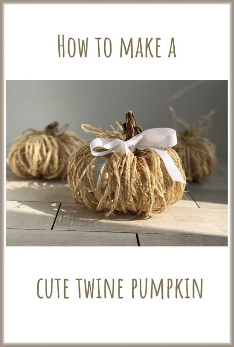 Hottest Snap Shots Cute rustic twine pumpkin is the one you to decorate your house with this fall! Strategies Cute rustic twine pumpkin is the one you to decorate your house with this fall! Fabric Pumpkins, Fall Pumpkins, Thanksgiving Crafts, Holiday Crafts, Holiday Ideas, Fall Halloween, Halloween Crafts, Twine Crafts, Fall Paper Crafts