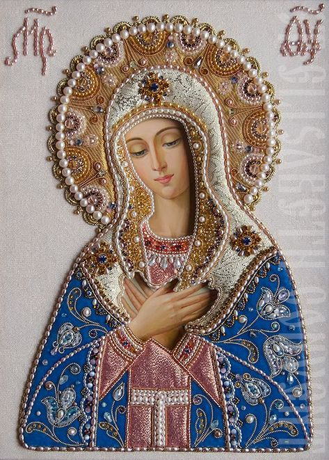 Traditional Catholic Virgin Mary Prints Ready for Frame Blessed Mother Mary, Divine Mother, Blessed Virgin Mary, Virgin Mary Art, Virgin Mary Painting, Religious Pictures, Religious Icons, Religious Art, Jesus E Maria