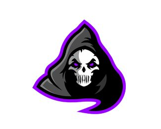 Ghost Skull Mascot Logo Logo Design Ghost Mascot Logo Design Best For Esports Gaming Or Sports Team It Is Also Useful For Companies Businesses Or Or Desain