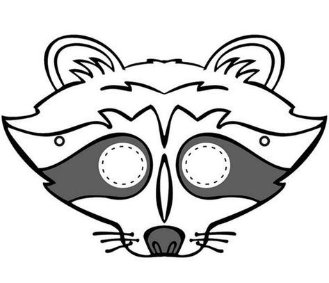 Halloween Raccoon Clipart