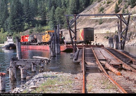 Walthers 933-3068 ferrocarril-Barge