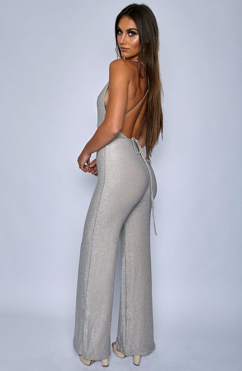 LA Bish Jumpsuit - Silver