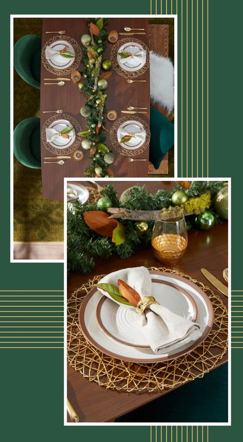 Grab great deals on gorgeous dinnerware at Overstock and get your holiday hosting on, with beautifully festive dining essentials for every occasion. #christmasdiningroom #christmas #flatware #dinnerware #silverware #christmasessentials #christmashosting #christmasmeals #homegoods #homeessentials #dining #hosting #entertaining #tablelinens #napkins #dinnerwareessentials #diningroom #diningspace #tableessentials #table #dinnergoods #dinnerwarestyle #tableinspiration
