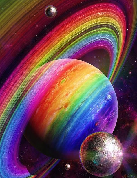Das Universum im Herzen.