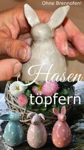 Photo of töpfern ideen ostern