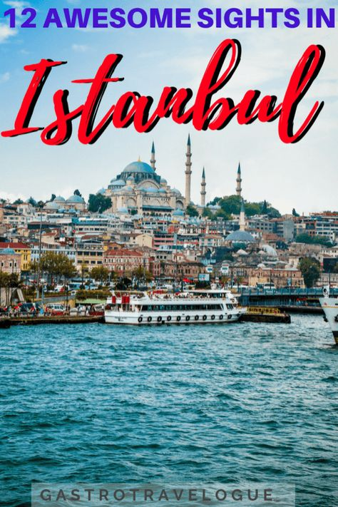 What to do in Istanbul – #istanbul #turkey #travel #asia #sights #whattosee #tulips #hagiasophia #cruise #markets #grandbazaar #palace #basilica #cistern #mosque #palace #spice #bospherous #ortokoy