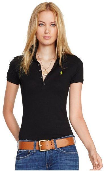 Pin On Camisetas Polo Mujer