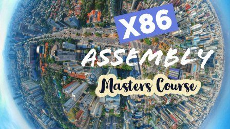 X86 Assembly Language Programming Masters Course Sponsored Masters Courses Simple Logo Design Card Design