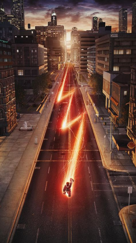 """The Flash - Barry Allen wakes up 9 months after he was struck by lightning and discovers that the bolt gave him the power of super speed. With his new team and powers, Barry becomes """"The Flash"""" and fights crime in Central City. Flash Barry Allen, The Flash Poster, New Poster, The Flash 2014, The Flash Art, The Cw The Flash, Flash 2018, Series Gratis, Comic Shop"""