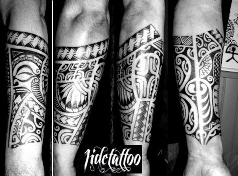 foto de avant bras, tatouage Polynésien par jidetattoo -Art Tribal Tattoo ...