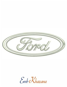 Ford Logo Embroidery Design To Fast Download Pes File Ford Logo Embroidery Logo Embroidery Designs