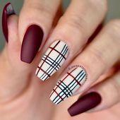 39 Trendy Autumn Nail Design-Ideen für Herbst und Charming - Autumn Nail Art