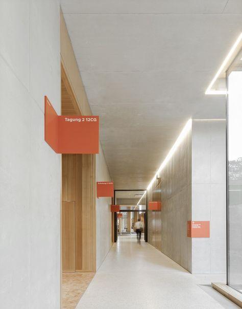 büro uebele // w&w-campus, wüstenrot & württembergische ag signage system kornwestheim 2018