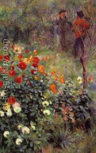 Pierre Auguste Renoir Garden Pierre Auguste Renoir Garden Pierre Auguste Renoir Garten Jardin Pierre August In 2020 Renoir Paintings Fine Art Painting Painting