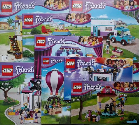 099 Gbp Lego Friends Instruction Manual Books Only Ebay