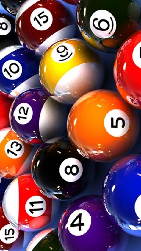 Billiard Balls CANVAS PRINT Home Wall Decor Art Giclee Pool Snooker 4 Sizes