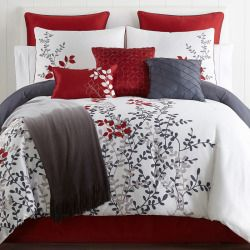 Home Expressions Cooper 10 Pc Comforter Set Comforter Sets Bedroom Comforter Sets Bed Linen Design