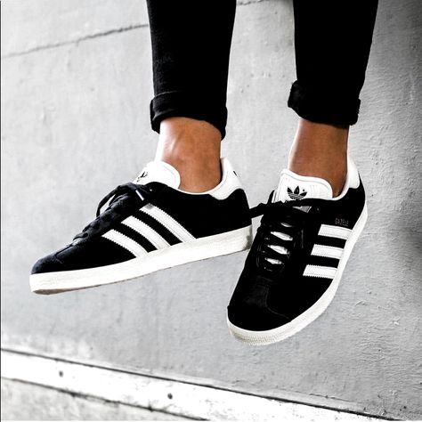 Adidas Shoes 80% OFF!>> adidas Shoes   Adidias Gazelle Sneaker   Color: Black/White   Size: 8 #Adidas #Adidasshoes #shoes #style #Accessories #shopping #styles #outfit #pretty #girl #girls #beauty #beautiful #me #cute #stylish #design #fashion #outfits #diy #design