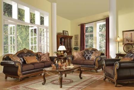 Acme Furniture 51590slc Dorothea Living Room Sets 3055 Living