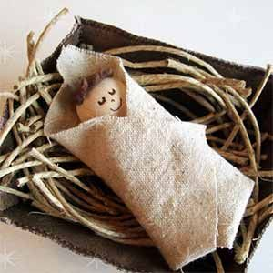 Baby Jesus in the Manger - Sunday School Bible Craft