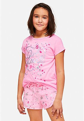 dc75452e111 Girls' Pajamas - PJ Sets & Sleep Separates | Justice | clothes in ...